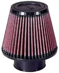"""RED 2003 UNIVERSAL 76mm 3/"""" SMALL  AIR INTAKE FILTER"""