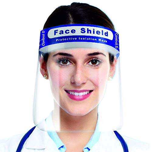 Control D Eyes Nose Full Frontal 4 Protection Isolation Face Shield Mask