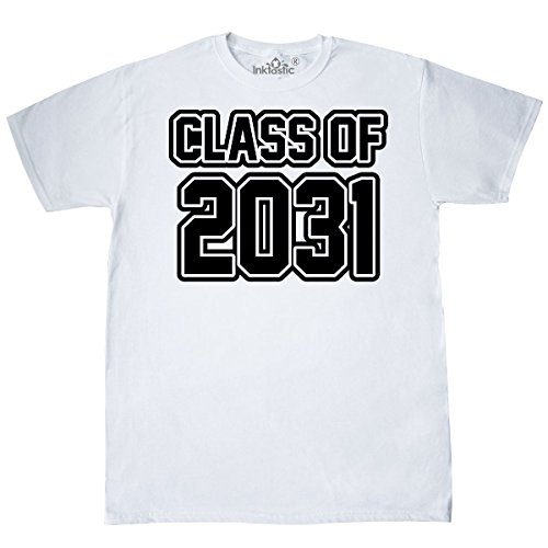 - inktastic - Class of 2031 T-Shirt Large White 23fd0