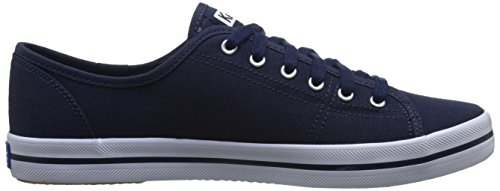 Keds KICKSTART Women's Navy SEASONAL SOLID Sneakers FFxqOp5Rr