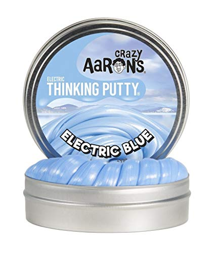 Crazy Aarons Thinking Putty 2 Mini Tin Electric Blue