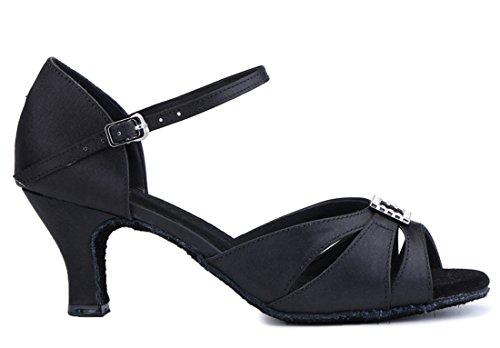 de Jazz Black Mujer Satén Heel Y Contempóraneo 6cm MGM Joymod 6IqF14