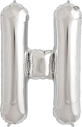 Letter Silver Helium Foil Balloon product image