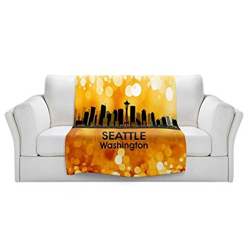 Blankets Ultra Soft Fuzzy Fleece 4 SIZES DiaNoche Designs...