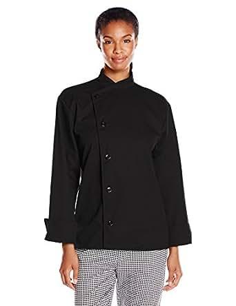 Uncommon Threads Unisex  Rio Chef Coat, Black, X-Small