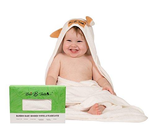 Baby Absorbent Back Towel (Rabbit) - 1