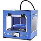 QIDI TECHNOLOGY New Generation 3D Printer:X-one2,Metal Frame Structure,Platform Heating