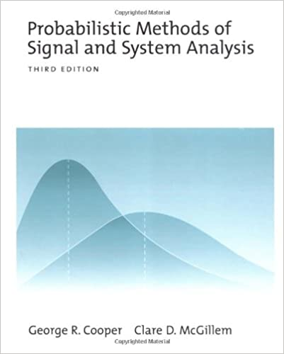 Book Probabilistic Methods of Signal and System Analysis (The Oxford Series in Electrical and Computer Engineering)