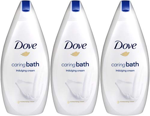 Dove Beauty Bath Indulging Cream Body Wash 16.9 Oz / 500 Ml (Pack of 3) ()