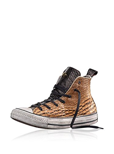 CONVERSE Limited Ed. ALL STAR HI PREMIUM BROWN SNAKE SNEAKER