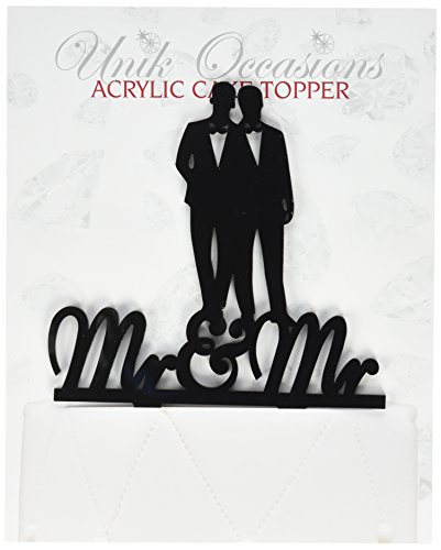 Unik Occasions Silhouette Acrylic Wedding product image