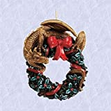 Christmas ornament Gothic wreath Dragon Holiday New