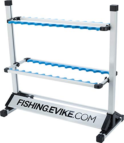- Evike Promo Retail Display Grade 24 Fishing Pole Rack Rod Holder (Type: Fishing