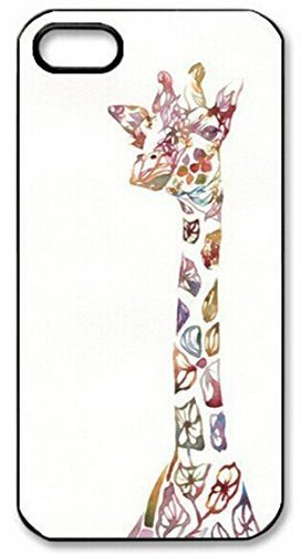 Animal Giraffe Cartoon Phone Case Custom Well-designed Hard Case Cover Protector For Iphone 5 5s 5c (N73 Housing Cover Nokia)