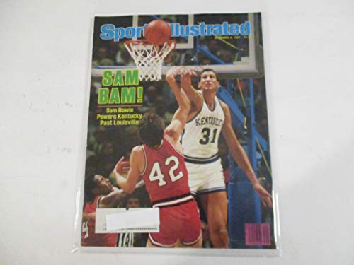 DECEMBER 5, 1983 SPORTS ILLUSTRATED MAGAZINE FEATURING SAM BOWIE OF KENTUCKY *POWERS PAST LOUISVILLE* *SAM BAM!*