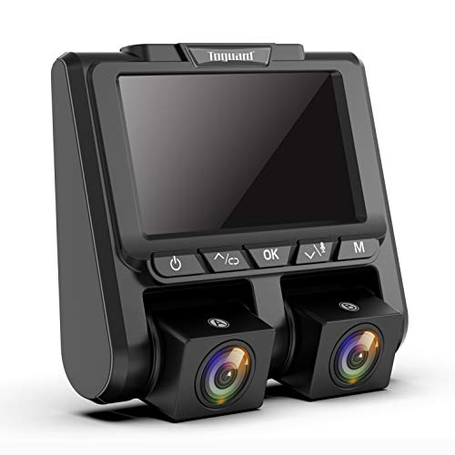 TOGUARD Uber Dual Dash Cam Full HD 1080P+1080P Inside and Outside Car Camera Dash Cams 3