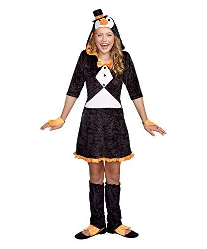 SugarSugar Girls Pretty Lil' Penguin Costume, One Color, Medium, One Color, (Pretty Lil Penguin Costumes For Girls)