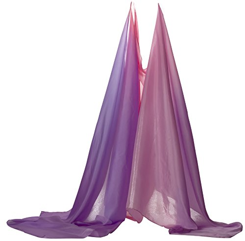 (Sarah's Silks Giant Blossom Playsilk - Super Long 9 Feet Long 3 Feet Wide - Fort Building - Play Tent - Group Games - Bed Canopy)