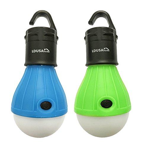 Portable Outdoor Lights Flashing LED Lantern2 Pack Lighting