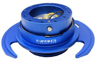 NRG Gen 3.0 Steering Wheel Quick Release Kit Matte Blue Color (Part: SRK-650BL)