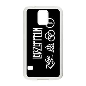 YUAHS(TM) Phone Case for SamSung Galaxy S5 I9600 with Led Zeppelin YAS323563