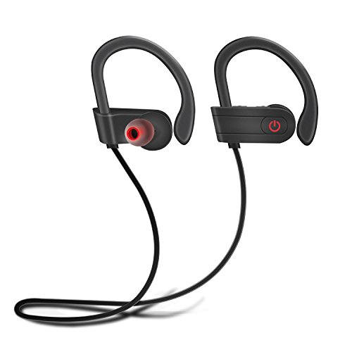 Auricular MixMart Audífono Bluetooth 4.1 Deportivo cascos inalámbricos bluetooth para Gimnasio Correr Taxi oficina Manos...