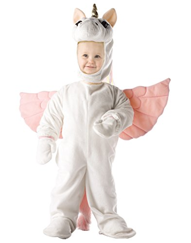 [Underwraps Costumes Baby's Unicorn, White/Pink, Medium] (Costumes For Moms And Babies)