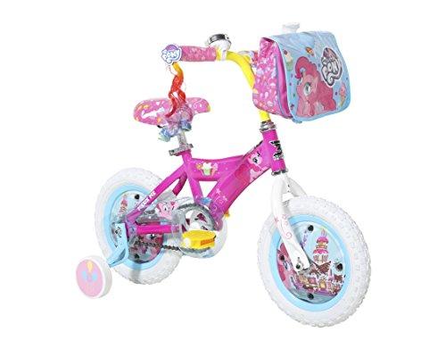 "My Little Pony Dynacraft Girls Street Bike 12"", Pink/White/L"