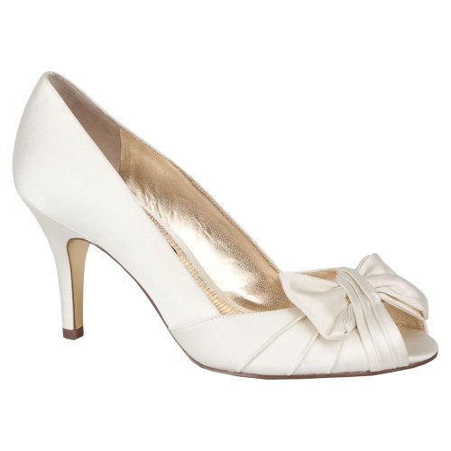 Bomba de sat¨¦n Forbes Ivory Lustre para mujer 8.5 W