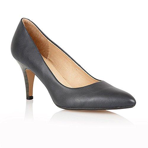 Lotus Drama - Zapatos de tacón alto para mujer azul oscuro