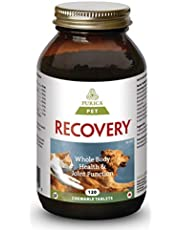 PURICA Pet - Recovery Regular Strenght with Nutricol, 120 Beef Liver Flavoured Chewable Tablets - Whole Body Health for Pets