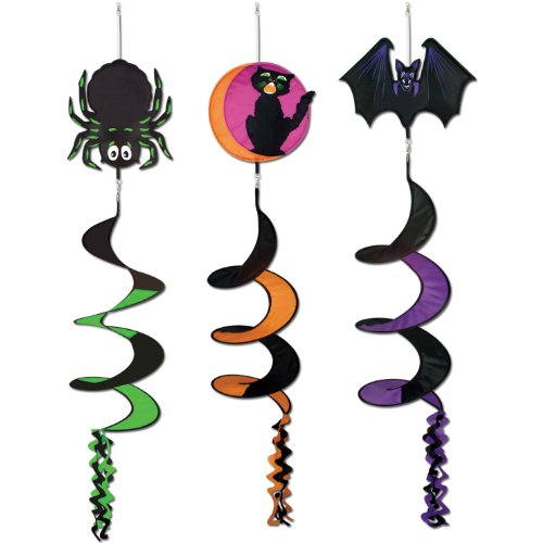Classic Halloween Icon Wind-Spinners (asstd designs) Party Accessory  (1 count) (1/Pkg)
