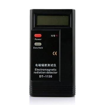 RADIACIÓN ELECTROMAGNÉTICA MEDIDOR TESTER LCD PORTÁTIL: Amazon.es: Electrónica