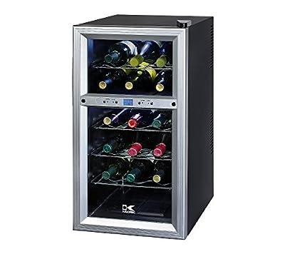 Kalorik 18-Bottle Dual Zone Wine Cooler