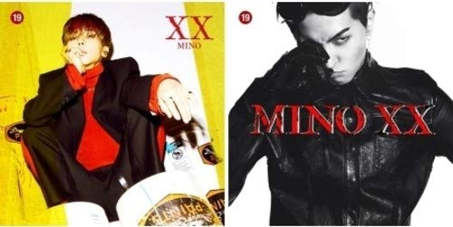 CD : Mino - Xx (Photo Book, Poster, With Book, Stickers, Photos)