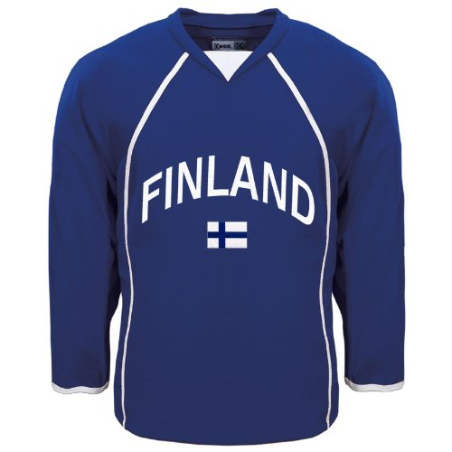 Finland MyCountry Fan Hockey Jersey - Size