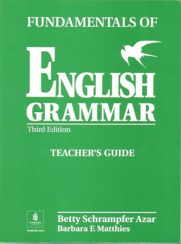 Download Fundamentals Of English Grammar Teachers Guide Book Pdf