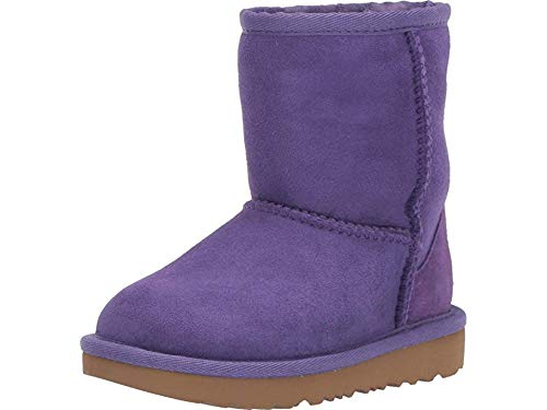 UGG Unisex T Classic II Fashion Boot, Violet Bloom, 12 M US Little Kid by UGG