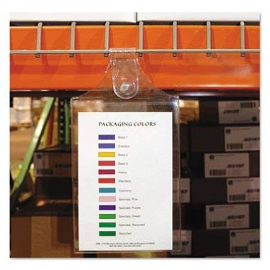 - C-Line - Magnetic Hanging Shop Ticket Holders, Clear, 9 x 6 - 15/Box