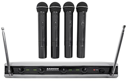 Stage v466 - Quad Vocal Wireless System - B Band Wireless Quad