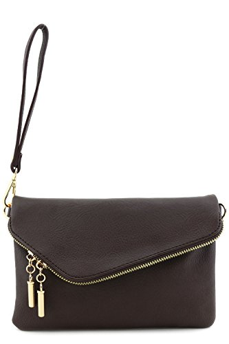 Buy large clutch purses for women with wrist strap