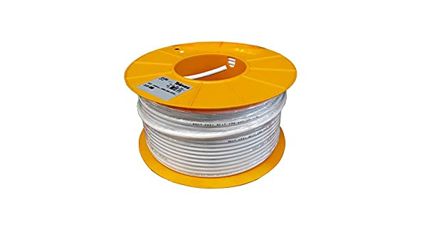 Televes - Cable coaxial cxt cu/cu pvc bl.100m: Amazon.es: Bricolaje y herramientas