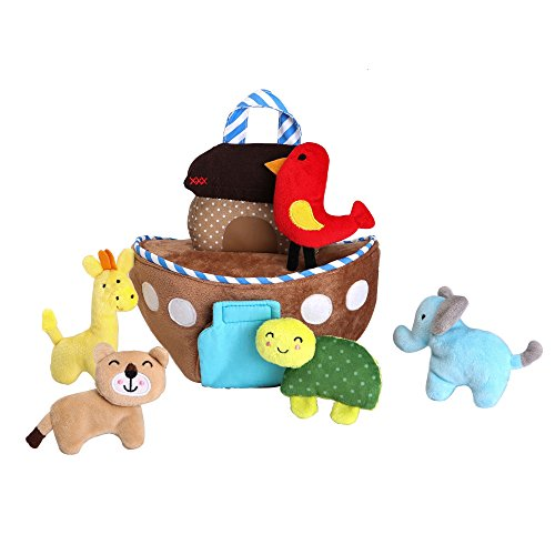 Alma's Designs Noah's Ark Soft Activity Kit ()