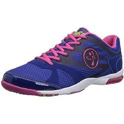 Zumba Women's Impact Max Sneaker,Mazarine Blue,5 M US
