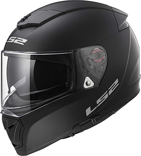 LS2 Helmets Unisex-Adult Full Face Helmet (Matte Black, Small) (Breaker)