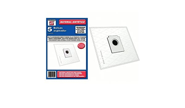 Bolsa sintetica aspirador AEG Fagor Brothers 5 UNIDADES 915725: Amazon.es: Bricolaje y herramientas