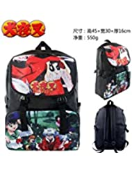 Inuyaha Anime Group Double Strap 18 Full Size Backpack