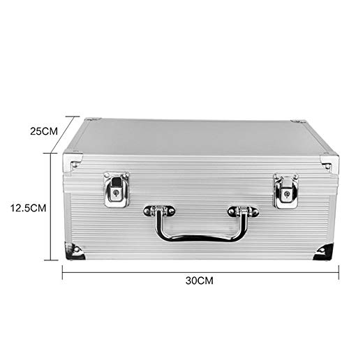 Aluminium Tattoo/Gun Carrying Case Rotary Coil Tattoo Machine Storage Box Permanent Makeup Embroidery Equipment from GUJIAO
