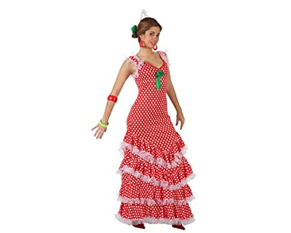 Atosa - Disfraz de bailarín para mujer, talla M/L (97151)