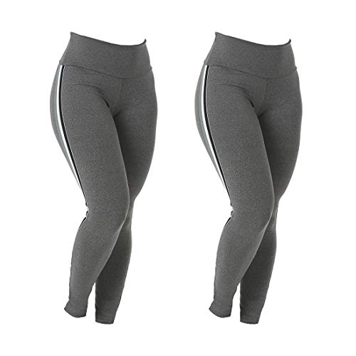 Kit 2 Leggings Listras Suplex
